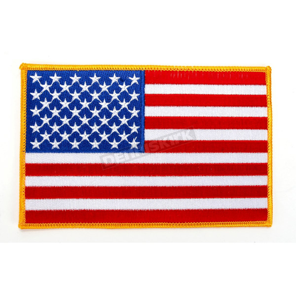 Hot Leathers 6 in. American Flag Patch - PPA1223