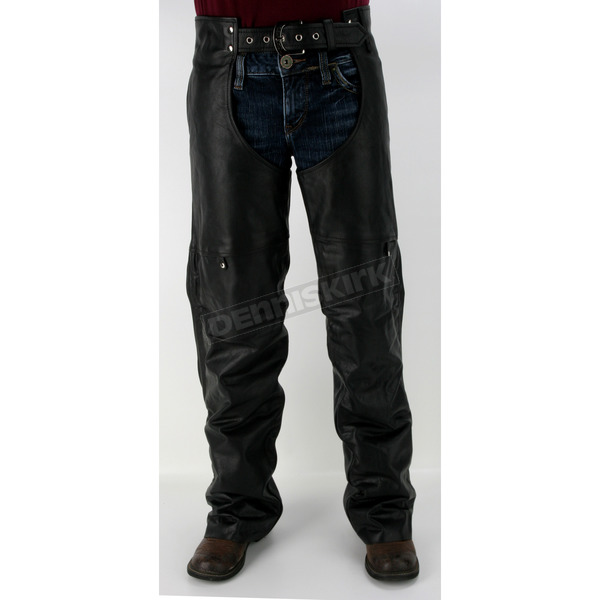 Power-Trip Mens Leather Power Chaps  - 9034-0006