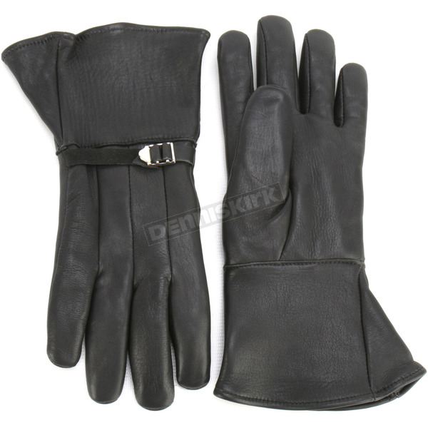 Churchill Maverick GT Gauntlet Gloves - GT-BLK-M
