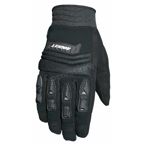 Joe Rocket Black Velocity Gloves - 1056-4001