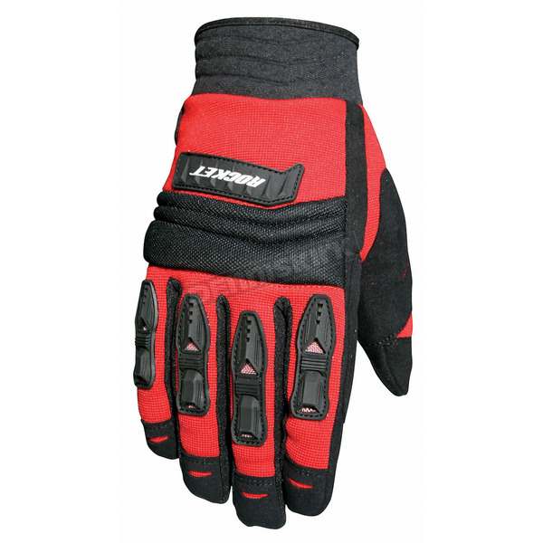 Joe Rocket Velocity Black/Red Gloves - 1056-4102