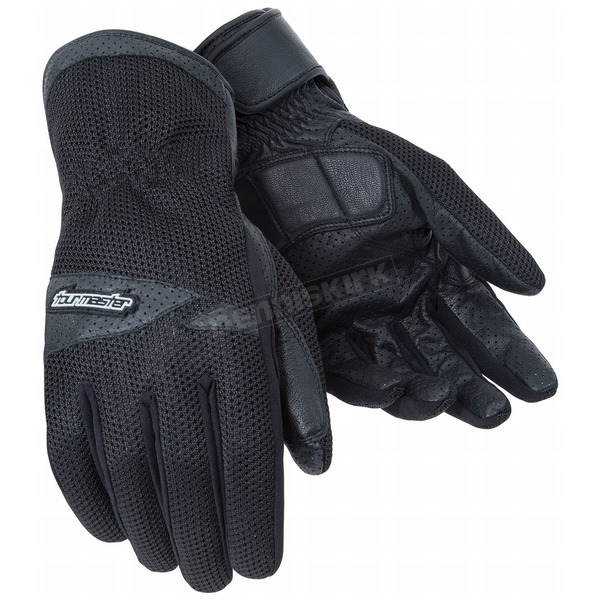 Tour Master Dri-Mesh Black Gloves - 8416-0105-06
