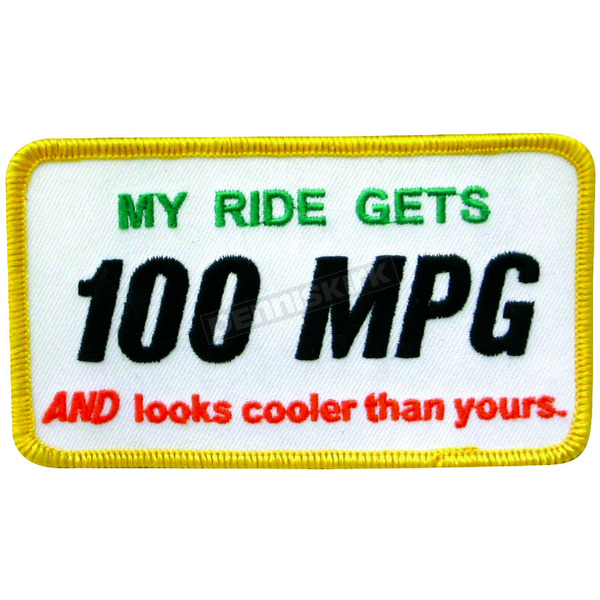 Scooter Works 100MPG Patch - PA100