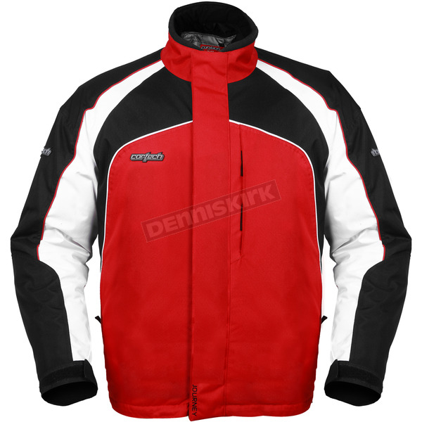 Cortech Youth Red/Black Journey 2.0 Jacket - 8700-0101-56