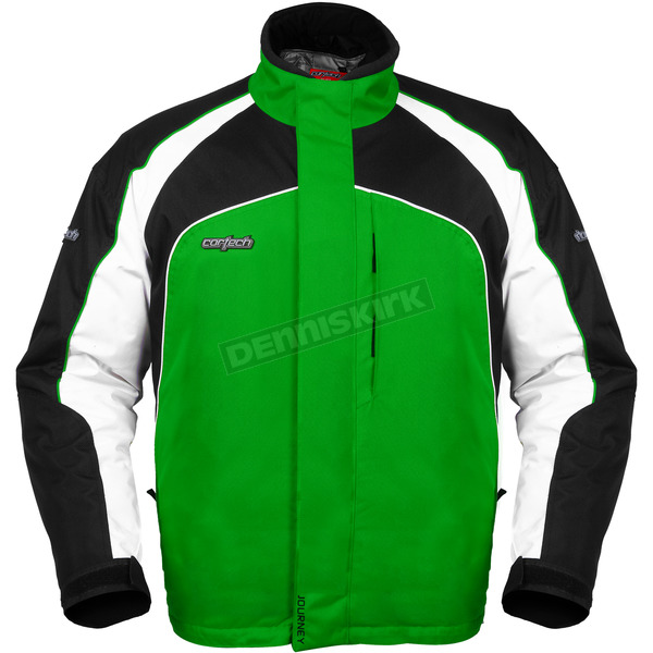 Cortech Youth Green/Black Journey 2.0 Jacket - 8700-0104-56