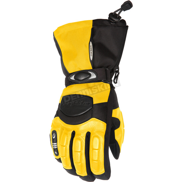 Cortech Yellow/Black Cascade Gloves - 8403-0203-05