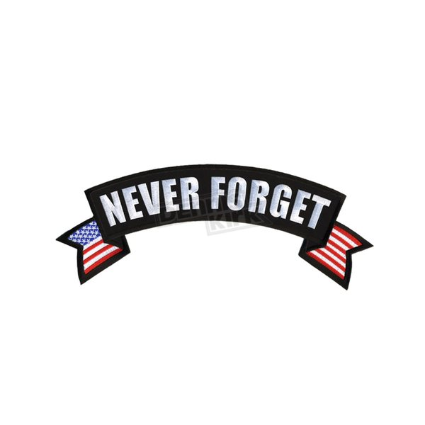 Hot Leathers Never Forget Patch - PPM2114