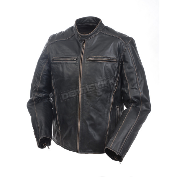 Mossi Rough Rider Leather Jacket - BCS-2786-50