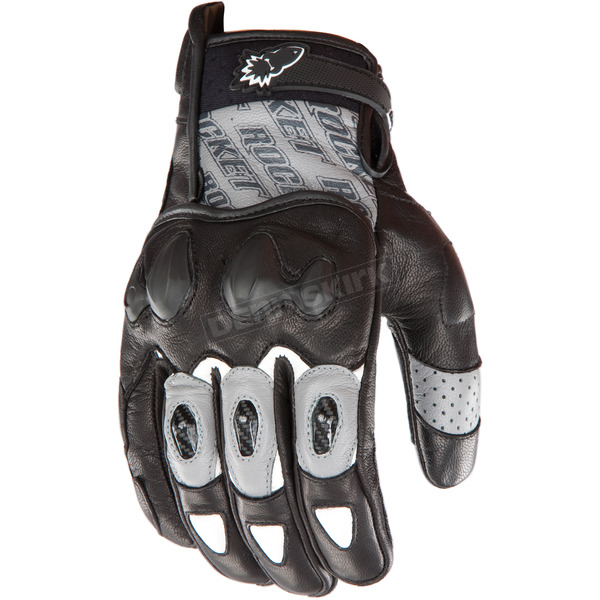 Joe Rocket Gunmetal/Black Supermoto 2.0 Gloves  - 1056-5604