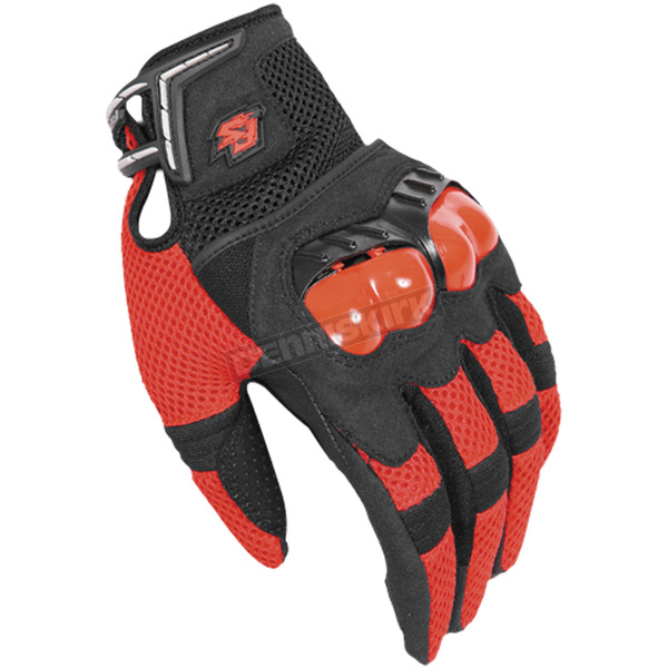 Fieldsheer Red/Black Mach 6.0 Gloves - 6294-1401-06