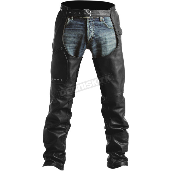 Pokerun Outlaw 2.0 Leather Chaps - 6686-0305-04