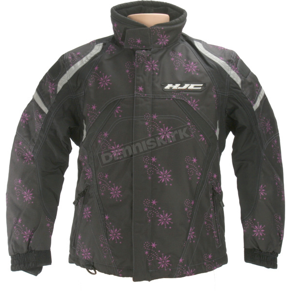 HJC Womens Limited Edition Black Storm Jacket - 1306-604
