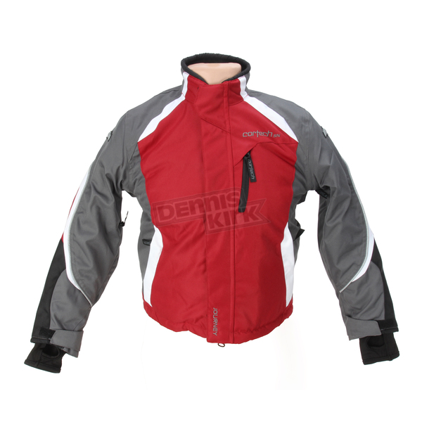 Cortech Youth Red/Gunmetal/White Journey 3.0 Jacket - 8930-0301-54