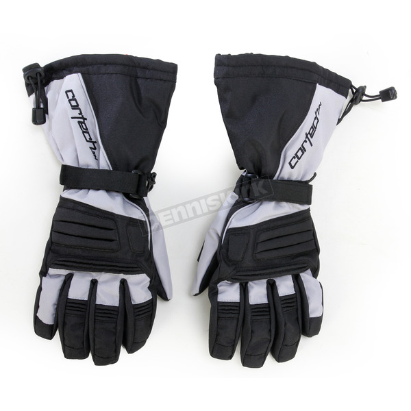 Cortech Black/Silver Journey 2.1 Snow Gloves - 8933-1407-04