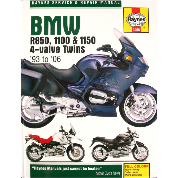 Haynes BMW Motorcycle Repair Manual  - 3466
