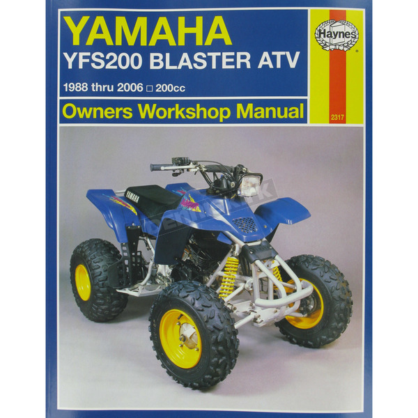 Haynes Yamaha Repair Manual - 2317