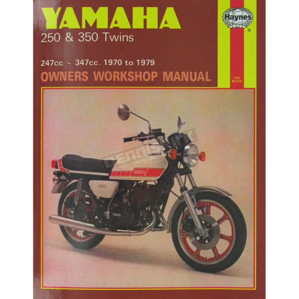 Haynes Yamaha 250/350 Twins Repair Manual  - 040