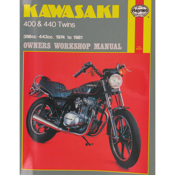 Haynes Kawasaki Motorcycle Repair Manual  - 281