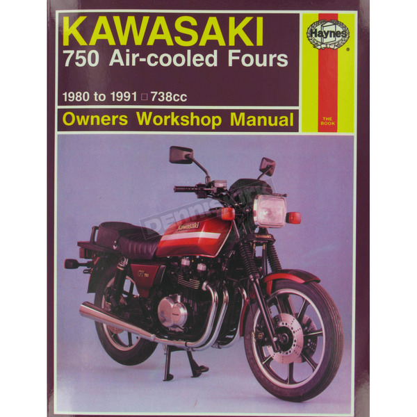 Haynes Kawasaki 750 Repair Manual  - 574
