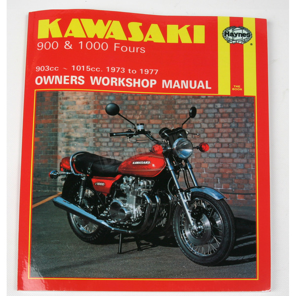 Haynes Kawasaki Motorcycle Repair Manual  - 222