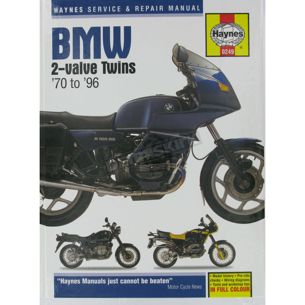 Haynes BMW 2 Valve Twins Repair Manual  - 249