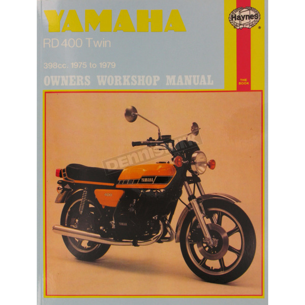 Haynes Yamaha RD400 Repair Manual  - 333