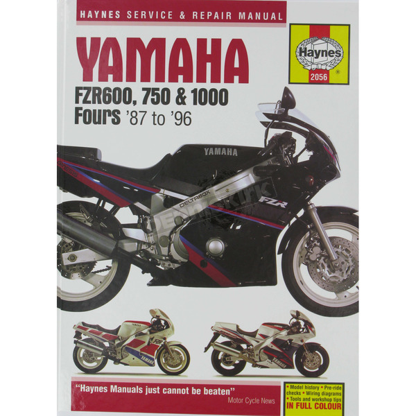 Haynes Yamaha Motorcycle Repair Manual  - 2056