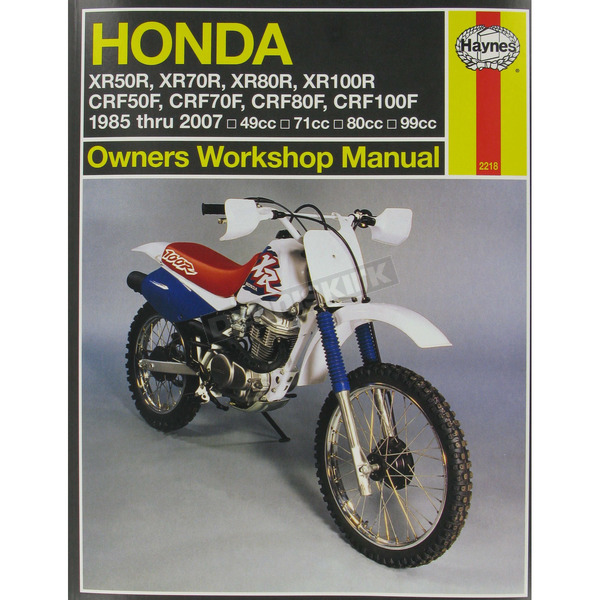 Haynes Honda Repair Manual - 2218