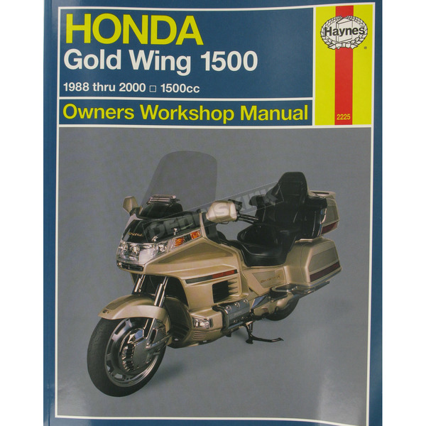 Haynes Honda Gold Wing 1500 Repair Manual  - 2225