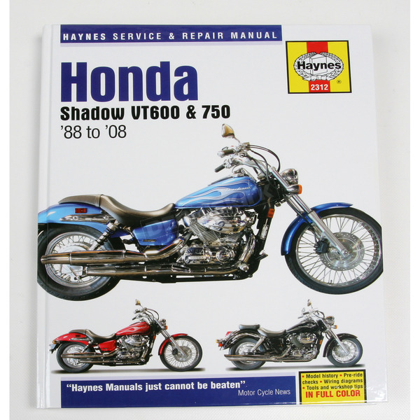 Haynes Honda Shadow Repair Manual  - 2312