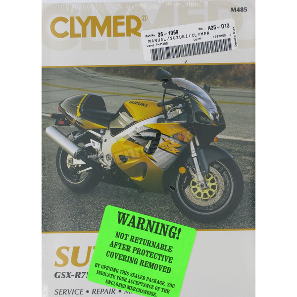 Clymer Suzuki Repair Manual - M485