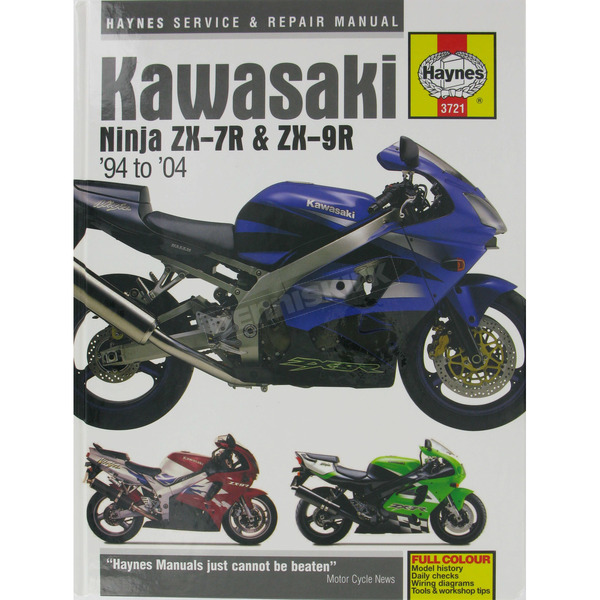 Haynes Kawasaki Ninja ZX-7R/ZX-9R Repair Manual - 3721