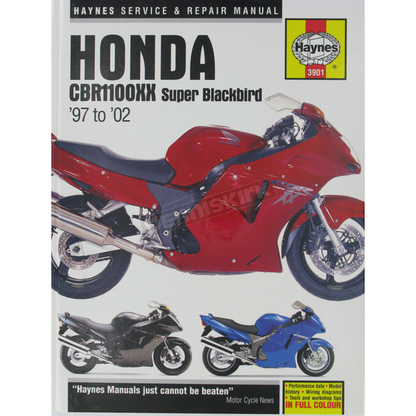 Haynes Honda CBR1100XX Super Blackbird Repair Manual - 3901