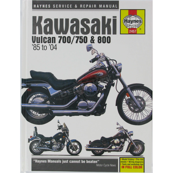 Haynes Kawasaki Vulcan Repair Manual - 2457