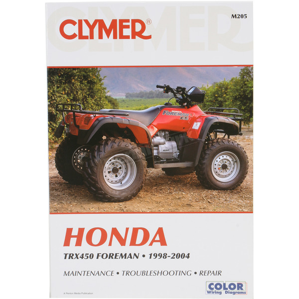 Clymer Honda Repair Manual - M205