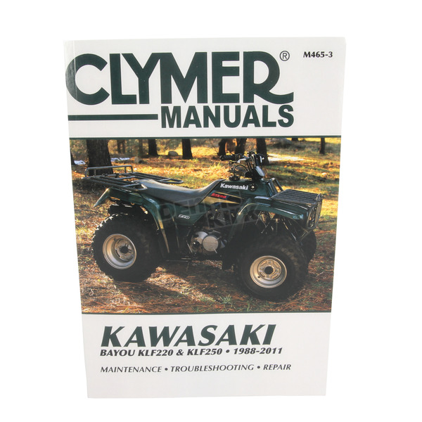 Clymer Kawasaki Repair Manual - M465-3