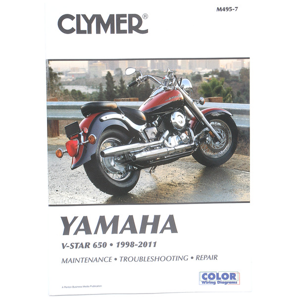 Clymer Yamaha Repair Manual  - M495-4
