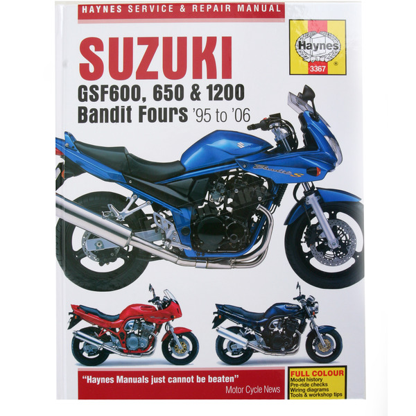Haynes Suzuki Bandit Repair Manual - 3367