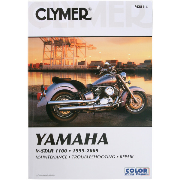 Clymer Yamaha Repair Manual  - M281-4