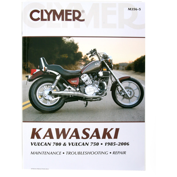 Clymer Kawasaki Repair Manual  - M356-5