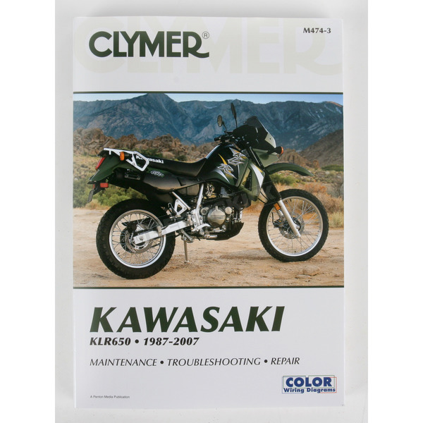 Clymer Kawasaki Repair Manual - 4743
