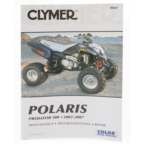 Clymer Polaris Repair Manual - M367