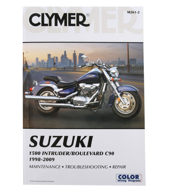 Clymer Suzuki Repair Manual - M261-2