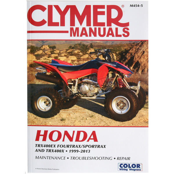 Clymer ATV Repair Manual - M454-5
