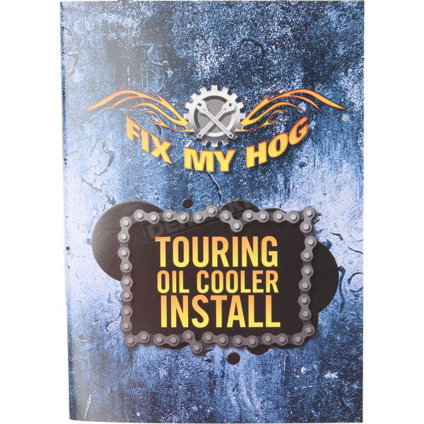 Fix My Hog Harley Davidson Touring Oil Cooler Install DVD  - T0008R