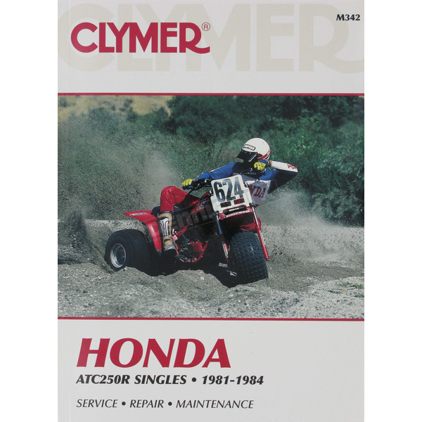 Clymer Honda Repair Manual - M342