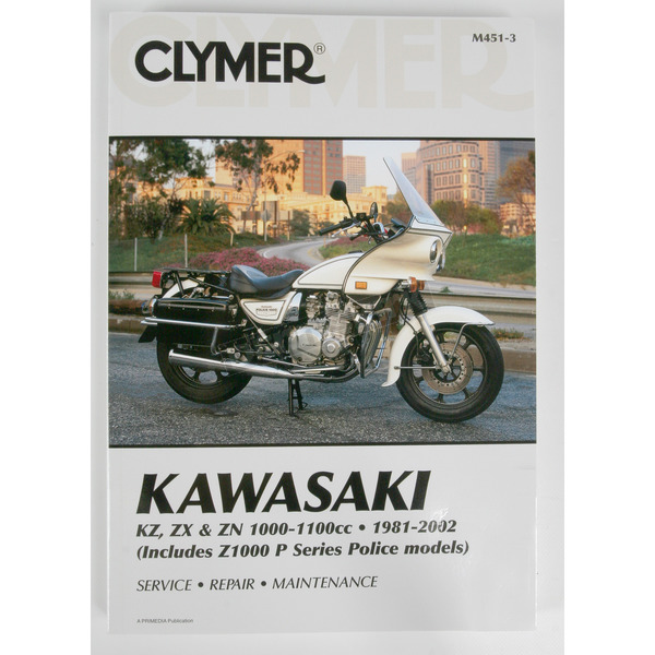 Clymer Kawasaki Repair Manual  - M451-3