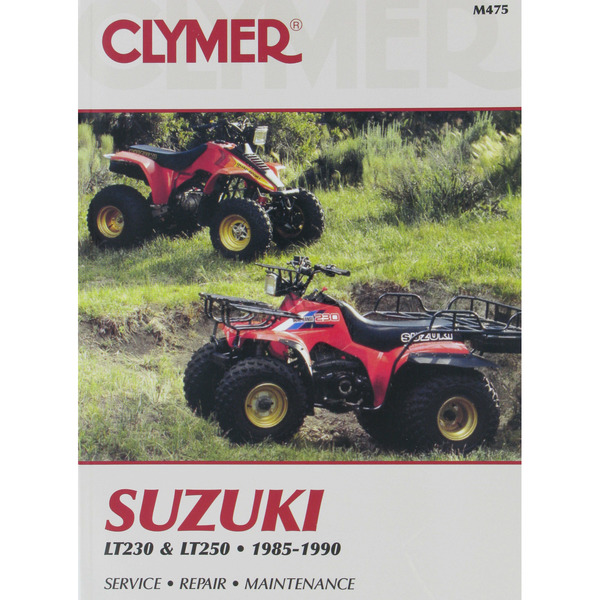 Clymer Suzuki Repair Manual - M475
