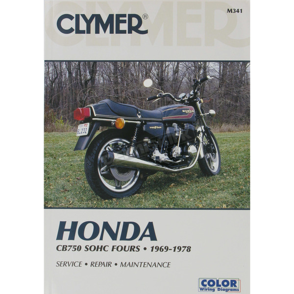 Clymer Honda Repair Manual  - M341