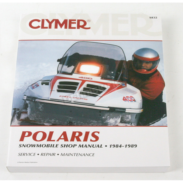 Clymer Polaris Service Manual - S832